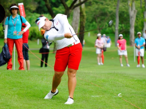 Thailand's rising star, Ariya Jutanugarn, who just turned professional this year